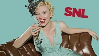 Scarlett Johansson Joins Some Exclusive Company This Month When She Hosts 'SNL