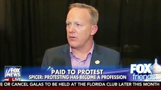Sean Spicer, Without Evidence: Muslim Ban Protests Aren't Organic And The Protesters Are Being Paid