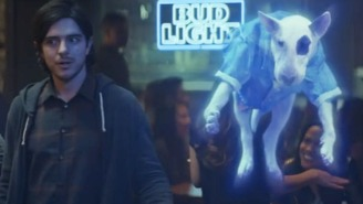 Bud Light Is Trotting Out Spuds MacKenzie — In Ghost Form! — For This Year's Super Bowl Commercial