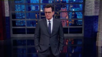 Stephen Colbert Jokes That We're Entering A Cold War 'But Everyone's On Russia's Side'