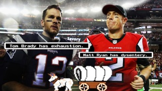 We Sent The Falcons And Patriots Down 'The Oregon Trail' To Predict The Super Bowl Winner