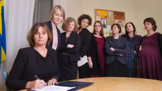 The Swedish Deputy Prime Minister Trolled Trump With An All-Female Administration Photo