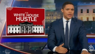 'The Daily Show' Is Pretty Sure Trump's Nordstrom Battle Is All Part Of His 'White House Hustle'