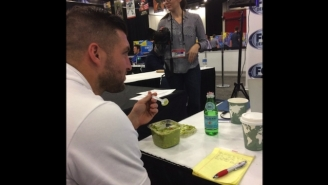 Tim Tebow Got Caught Eating Guacamole With A Spoon And The Internet Wasn't Having It