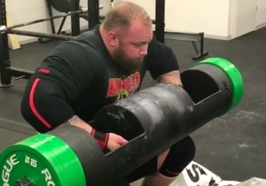 The Mountain From 'Game Of Thrones' Uses Adele To Get Pumped For Lifting Insane Amounts Of Weight
