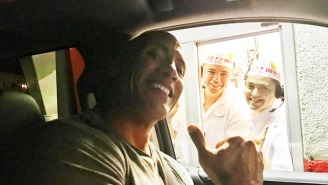 Dwayne 'The Rock' Johnson Went To In-N-Out For The First Time Ever And It Was Amazing