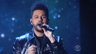 The Weeknd Channels Michael Jackson For His 'I Feel It Coming' Grammy Performance