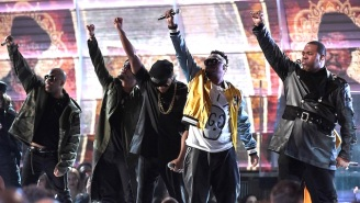A Tribe Called Quest's Ferocious Grammys Performance Unflinchingly Calls Out Donald Trump