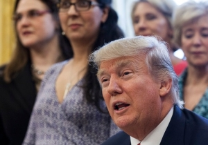 Trump Cryptically Suggests That Anti-Semitic Threats Across The U.S. Are 'Reverse' Acts To 'Make Others Look Bad'