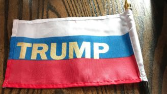 A Prankster Passed Out Tiny Russian 'Trump' Flags That CPAC Attendees 'Blindly Waved' At The Event