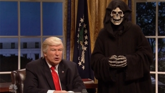 Alec Baldwin Returns To 'SNL' To Make Some Disastrous Phone Calls As Donald Trump