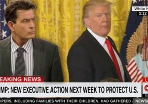 Jimmy Kimmel Breaks Down Trump's Impromptu Press Conference By Comparing It To Charlie Sheen's 'Winning' Streak