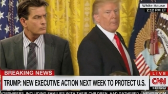 Jimmy Kimmel Breaks Down Trump's Impromptu Press Conference By Comparing It To Charlie Sheen's 'Winning' Streak