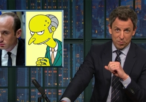 Seth Meyers Uses 'The Simpsons' To Puncture The Trump Team's Voter Fraud Lies