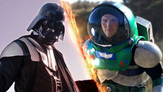 Watch: Could Buzz Lightyear Possibly Take On Darth Vader And Win?