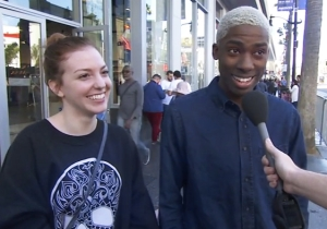 Jimmy Kimmel Puts People On The Spot To Ask Them If They Had Sex On Valentine's Day