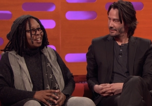 Whoopi Goldberg Educated Keanu Reeves On Pubic Hair On 'Graham Norton' Because Life's Fascinating