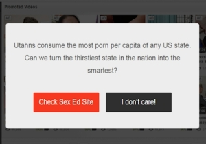 This Porn Site Is Fighting Utah's Rejection Of Comprehensive Sex Ed In A Novel Way
