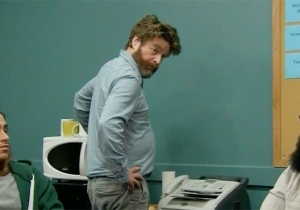 Zach Galifianakis Is The Houseguest From Hell After A Misunderstanding On 'The Late Late Show'