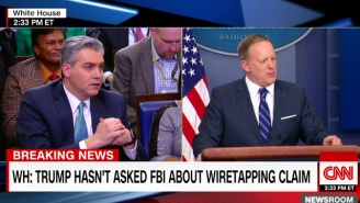 Sean Spicer Tried To Reframe Trump's Baseless Wiretapping Accusations As Mere Concern About Leaks