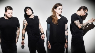 Against Me!'s 'Haunting, Haunted, Haunts' Video Is A Spooky Trip Down A Wormhole