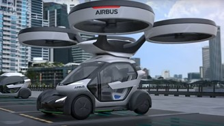 Pop.Up Is A Flying Car Straight Out Of A Bond Movie