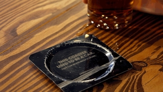 These Simple Bar Coasters Offer A Harrowing Message About Drinking And Driving