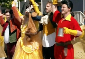 James Corden And The 'Beauty And The Beast' Cast Recreate Some Disney Magic In The Middle Of Your Commute