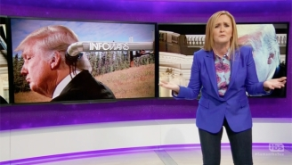 Samantha Bee Questions The Reality Of The Dreaded 'Deep State' And The Trump Team's Obsession With It