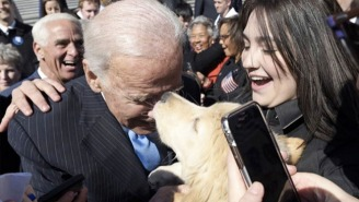 Joe Biden Met A Dog Named Joe Biden And For A Moment, All Was Right In The World Again