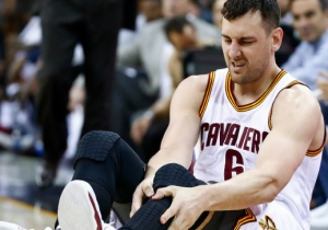 Andrew Bogut Reportedly Suffered A Fractured Tibia During His First Game As A Cavalier