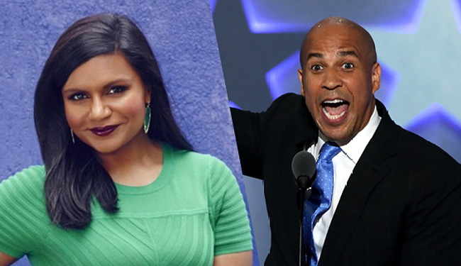 Are Cory Booker And Mindy Kaling Dating?