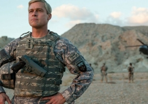 Brad Pitt Continues Netflix's Cinematic Push With The First 'War Machine' Teaser