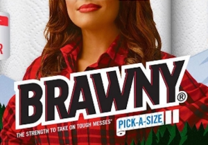 Brawny's Putting A Woman On Their Packaging For Women's History Month