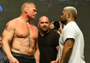 Brock Lesnar Could Get Served With A Lawsuit From Mark Hunt At Wrestlemania