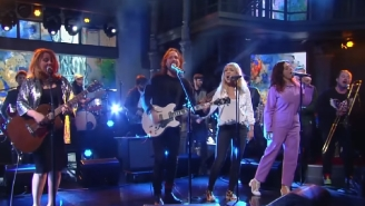 Broken Social Scene Played Their First New Song In Seven Years On 'Colbert'