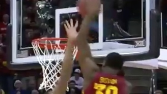 This Alley-Oop Put An Exclamation Point On Iowa State's Big 12 Championship Game Victory