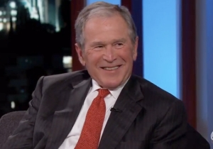 President George W. Bush Can't Remember If He Or Will Ferrell Came Up With 'Strategery'