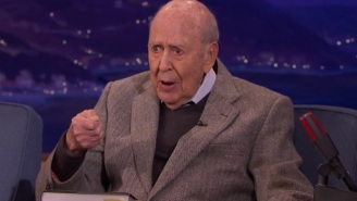 Comedy Legend Carl Reiner Loved The 'Nut Spoon' Sketch On 'Conan' And Couldn't Stop Talking About It
