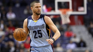 Chandler Parsons Documented Getting Stuck In An Elevator With Marc Gasol