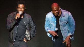 Dave Chappelle Was A Surprise Special Guest At Chris Rock's New Orleans Show