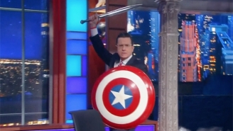 'Stephen Colbert' Returns To 'The Late Show' To Replace Stephen Colbert And Give A Right Wing Take On Trump's Budget