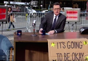 Colbert Relocates The 'Late Show' To Trump International Tower To Provide An Important Message