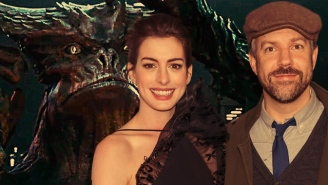 Anne Hathaway And Jason Sudeikis Will Totally Judge You Based On Your 'Colossal' Opinion