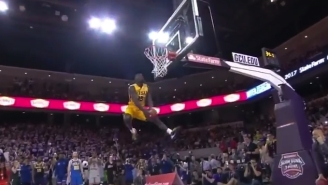 All The Best Throwdowns From The Thunderous College Dunk Contest