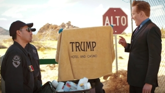 Conan's Spirited Trip To Mexico Uses Comedy To Highlight The Trouble With Building Walls