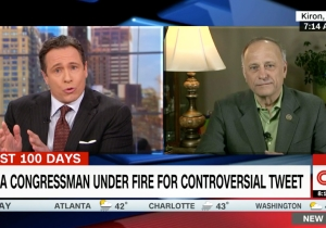 Rep. Steve King Regrets Nothing About His White Supremacist Tweet: 'I'm A Champion For Western Civilization'