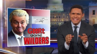 'The Daily Show' Examines The Dutch Rejecting The Far-Right And Finds The Touch Of Trump Is To Blame
