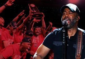 South Carolina Superfan Darius Rucker Tells Us Why The Gamecocks Made Him Cry