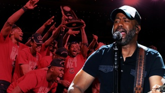South Carolina Superfan Darius Rucker Tells Us Why The Gamecocks Made Him Cry